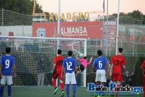 Golazo de falta de Al-Basit que suponía el 2-2