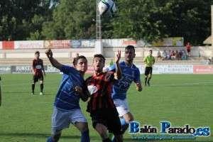 Berni marcó un bonito gol que adelantaba a los almanseños (FOTO: Archivo)