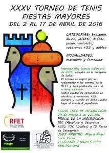 Cartel XXXV Torneo de Fiestas Mayores