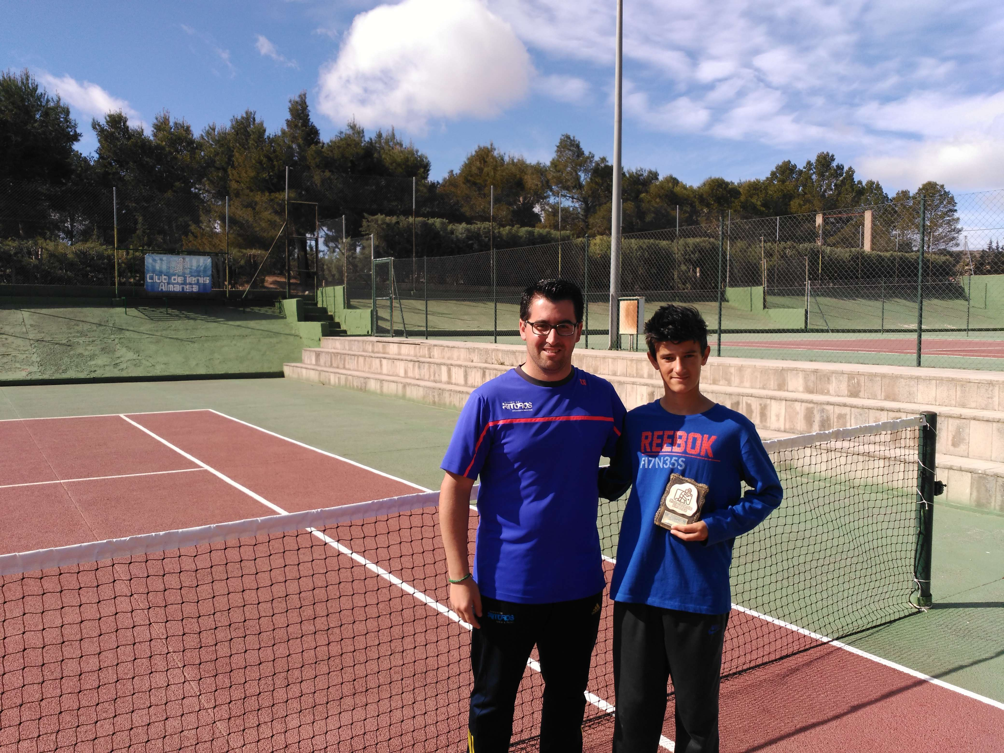 Campeones del xxxv torneo de tenis fiestas mayores - David llorens ...
