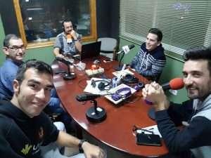 """Foto de Miguel Ráez """"Bonete"""" durante el programa"""