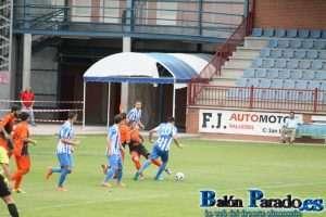 Imagen del último partido jugado por la U.D. Almansa en Talavera